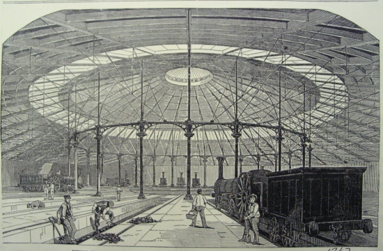 Illustrated London News - Roundhouse 1847