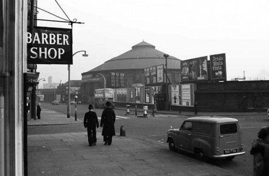 Roundhouse Chalk Farm Road 1950s