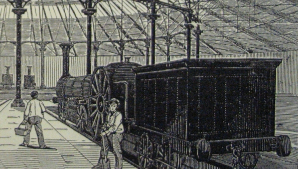 London Illustrated News - Roundhouse 1847