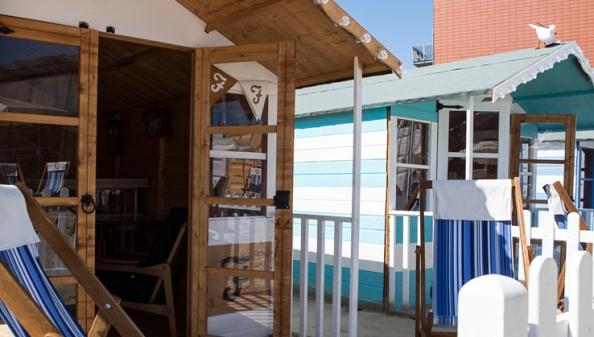 Beach Huts - Camden Beach