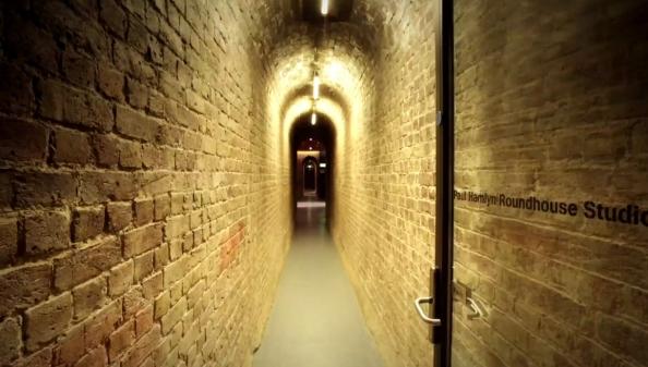 Behind the scenes - Roundhouse Studios tunnel.jpg