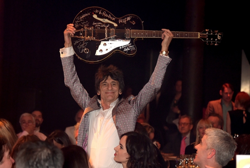 Ronnie Wood auction