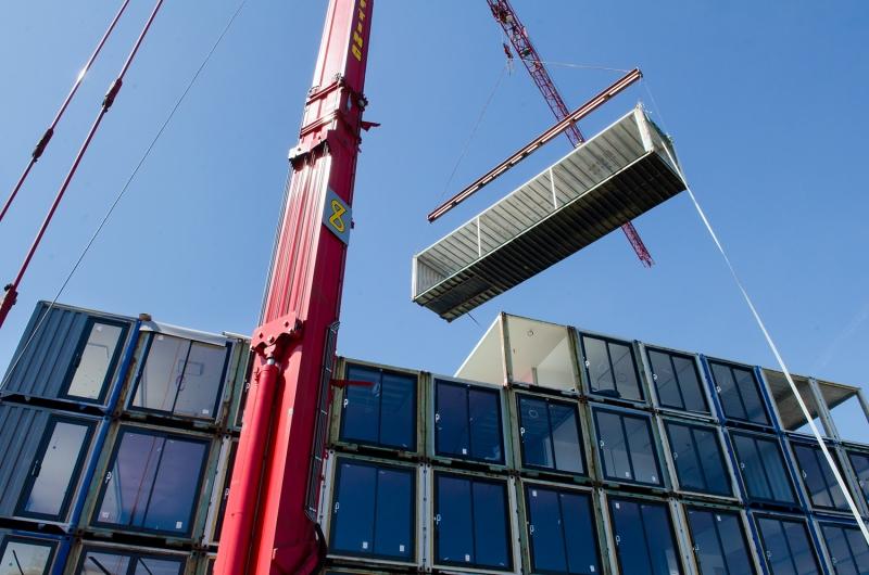 New building - top floor
