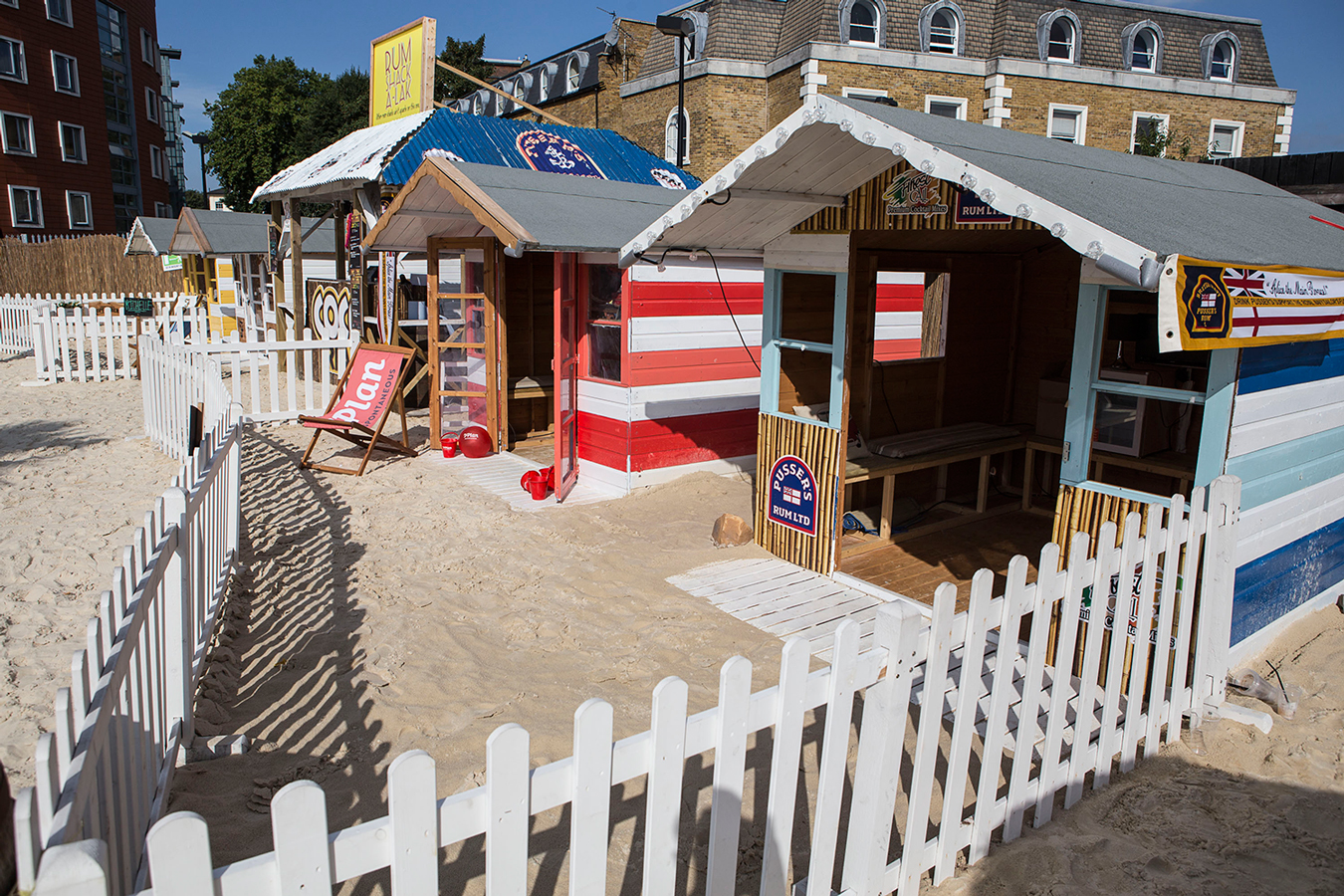 Beach Huts Roundhouse