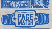 Word Wrestling Federation present Page Match