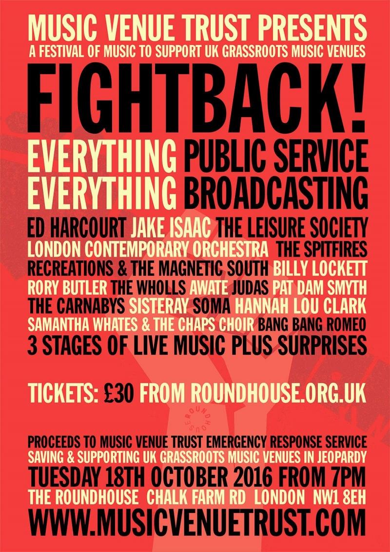 Music Venue Trust Presents Fightback