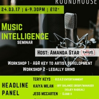 Music Intelligence Seminar Flyer