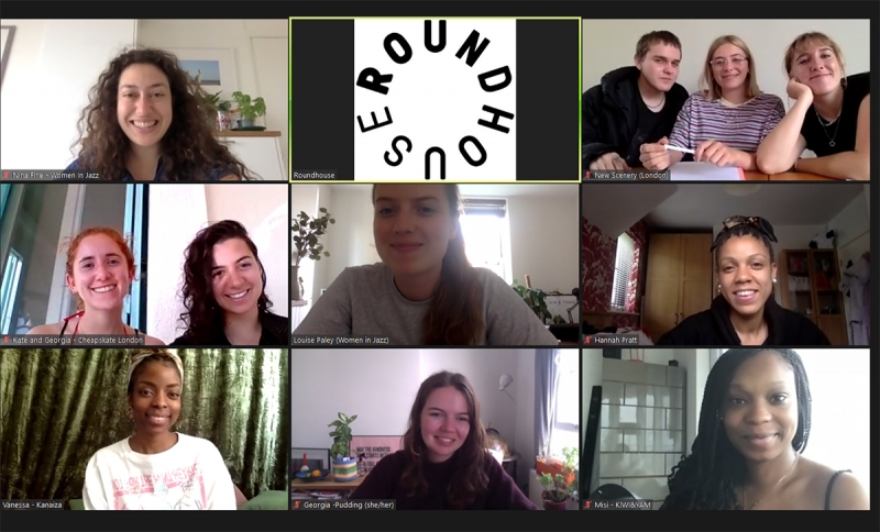 Photo of an Accelerator Programme Zoom meeting