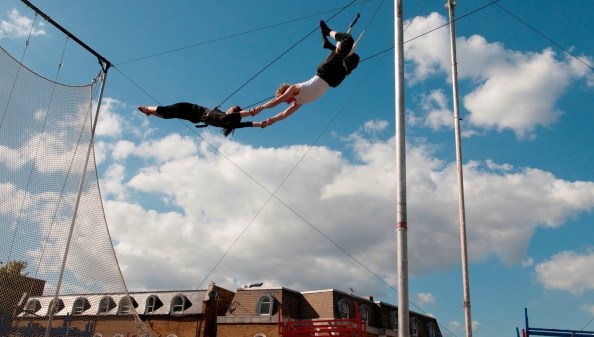 Gorilla Circus - Aerial Skills - Creative Projects